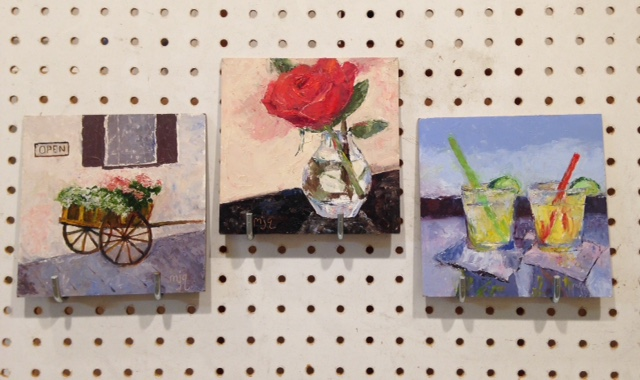 6″ x 6″ Original Oil Paintings