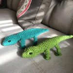 Amigurumi lizards