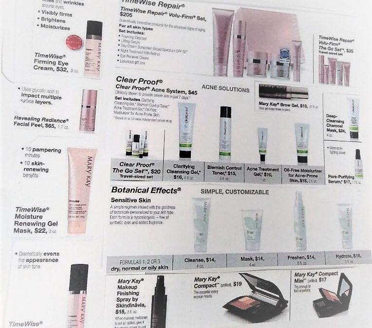 Skin care Mary Kay