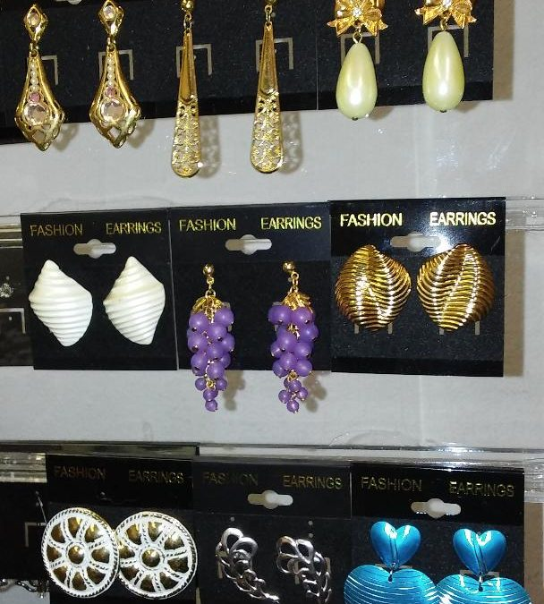 Classic vintage Avon earrings and necklaces